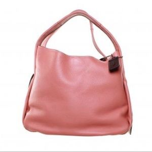 NWOT COACH BANDIT HOBO AUTHENTIC ROSE PINK